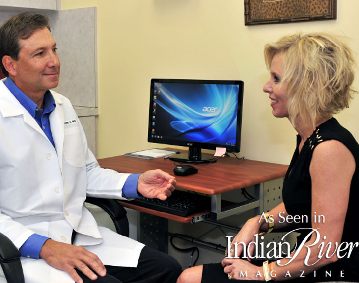Indian River Magazine Feat. Dr. Pierone